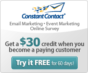 Try Constant Contact FREE for 60 days!