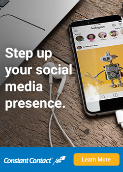 Step up your social media presence.
