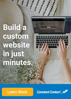 Build a custom website in just minutes.