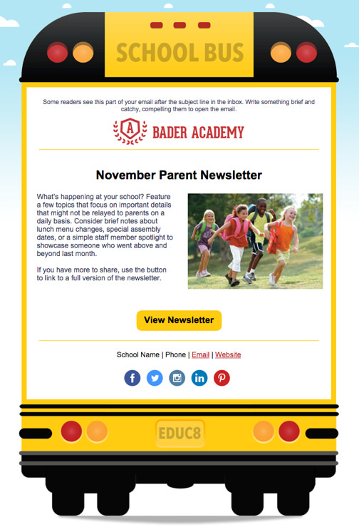 Email Templates – Example of Newsletter Templates