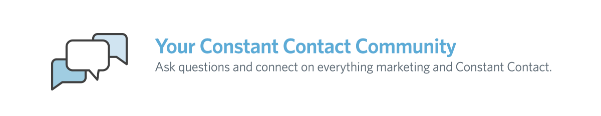 Constant Contact Small Business Community