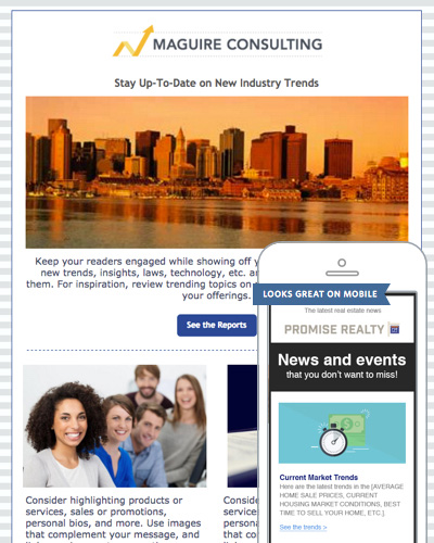 Email Newsletter Templates – Example of Newsletter Templates