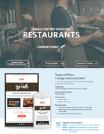 Restaurant Email Marketing Downloadable Guide